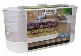 Organic Sprouting Toren 3 laags