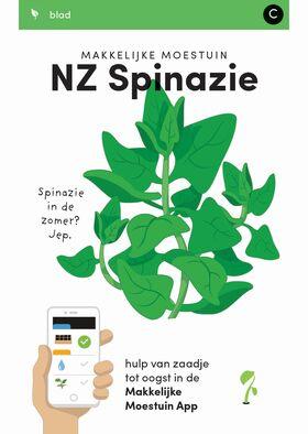 Makkelijke Moestuin zaden Spinazie Nieuw Zeeland