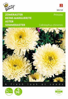 Graines de fleurs Reine-Marguerite Jaune D'Or
