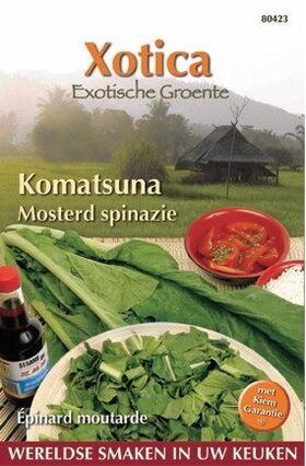 Épinard moutarde Komatsuna