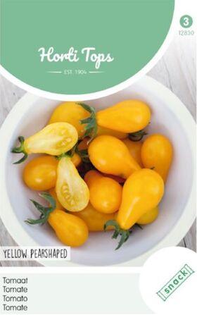 Tomaten Snack Geel Peervorm