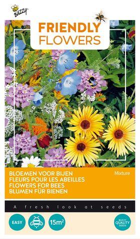 Friendly Flowers Attire les Abeilles